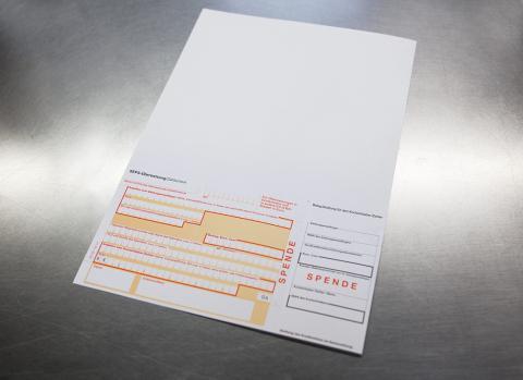 Ebeling Drucke für Ihre Bankformulare