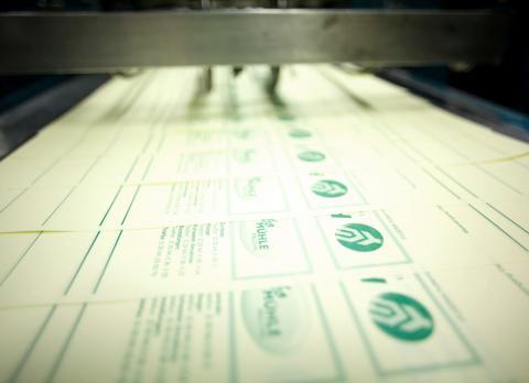 Formulare werden gedruckt
